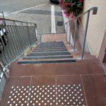 Bande d'éveil à la vigilance escaliers extérieurs